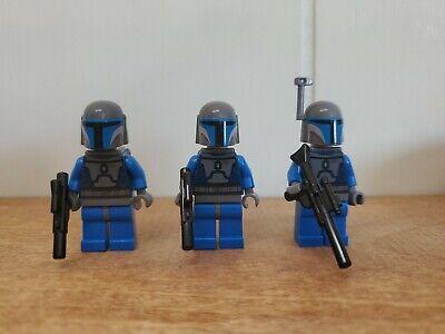 Lego Star Wars Mandalorian Death Watch Troopers Lot Of 3