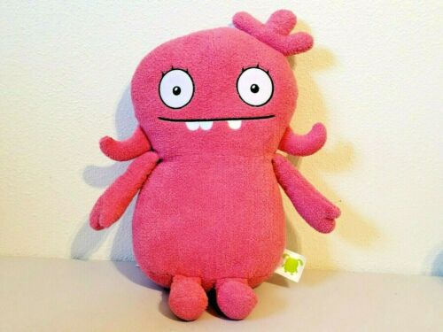 "2019 Hasbro Uglydolls Ugly Dolls Pink MOXY Stuffed Plush 15"""
