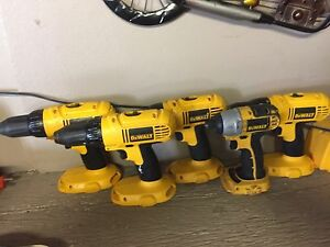 Dewalt 18v Bare Tools ( no batteries )