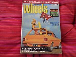 Wheels February 1970 Centenary Heights Toowoomba City Preview