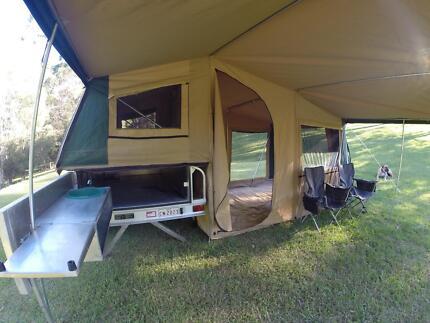Aluminium Camper Trailer - 7x4 Maroochydore Maroochydore Area Preview