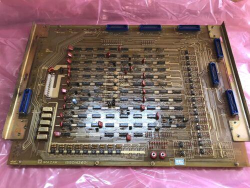 MAZAK 1550142601 CONTROL BOARD ***USED*** JML WARRANTY!!!