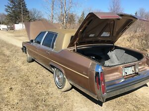 1987 Cadillac brougham parts partout ONLY PARTS