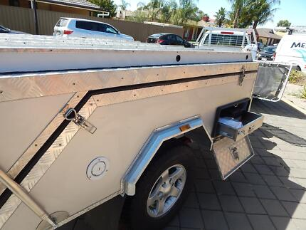 CAMPER  TRAILER EXTREME HARD FLOOR 4X4 INDEPENDENT SUSPENSION NEW Andrews Farm Playford Area Preview