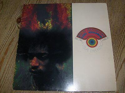 Jimi Hendrix Concert Tour Program 1969 Electric Church by The Visual Thing Inc.