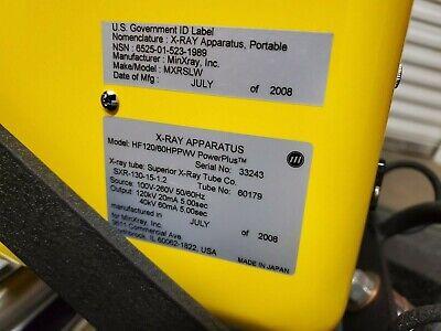 Portable Xray Minxray Mini X-ray Power Plus Hf12060hppwv