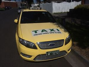 Melbourne Taxi License for Lease, with Ford G6E Coburg Moreland Area Preview