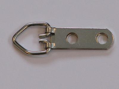 Triangle D-Ring Strap Hanger Hangers, 2 Hole Medium, 10, 24, 50, 100, 200, 500