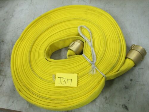 """Fire Hose 240-98-353 1-1/2"""" NH Connection 75"""