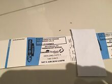 Afl tickets Geelong vs gws Giants peroni lougne Hamilton North Newcastle Area Preview