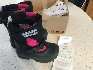 Pink Stonz boots, size 7