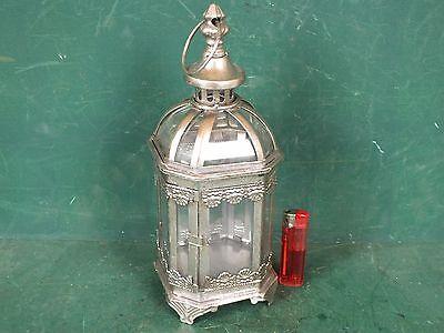 Antike Kerze Laterne (Windlicht Laterne Kerzenleuchter für Teelicht / Stumpenkerzen Antik Stil)