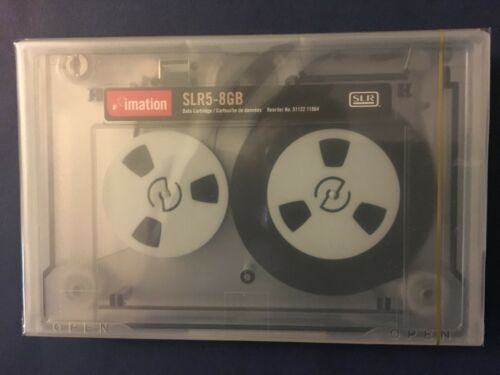 "NEW Imation SLR5 SLR5-8GB 5.25"" data tape cartridge 11864 Super fast ship"