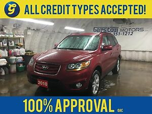 2010 Hyundai Santa Fe LIMITED*AWD*NAVIGATION*LEATHER*BACK UP CAM