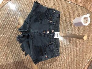 caf180aa7a One teaspoon denim shorts. Size 26/