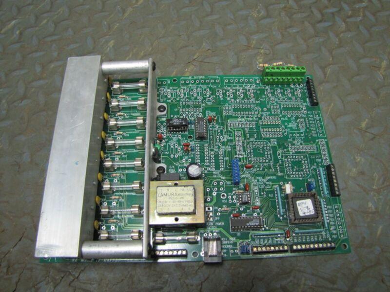 GBI GLEASON BROS INDUSTRIES CIRCUIT BOARD CONTROLLER HC11AS96.DWG HC11