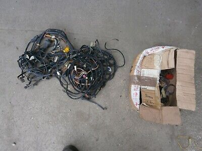 Vw Scirocco Mk2 Gti /Golf Mk1 Gti Complete Wiring Loom Engine and  Internal