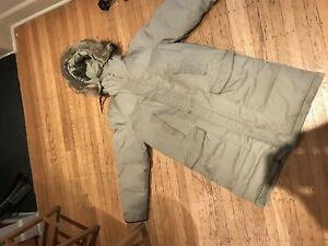Woods down jacket parka not Canada Goose