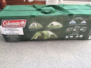 Brand New Coleman 6 person tent