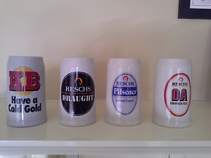 Ceramic beer mugs - great collector's item for a bar Glenwood Blacktown Area Preview