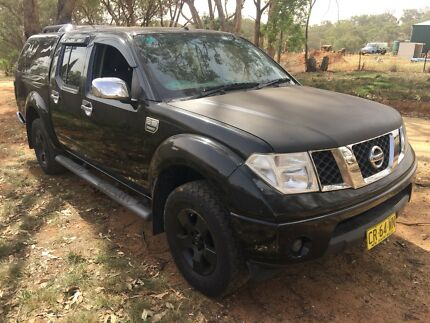 Nissan navara 2006 D40.  4x4 petrol Young Young Area Preview