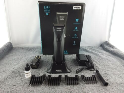 Wahl Professional 5in1 Animal Creativa Cordless Clipper - Black - Used