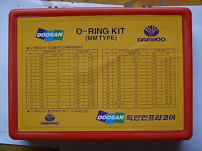 Dh220-5 Dh130-5 Dh55-7 Dh305 Dh330-5 O-ring Box Fits For Daewoo Excavator