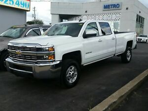 2016 Chevrolet Silverado 2500 HD LT Crew Cab Long Box 4WD
