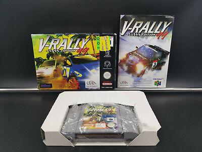 Nintendo 64 N64 V-Rally Edition 99 CIB Complete Boxed PAL