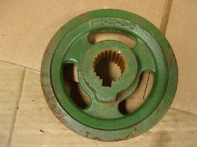 Ace Pump Tractor Pto Belt Driven Centrifugal Drive Pulley 1 38 21 Spline Bore
