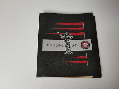 Vintage Rolls Royce Magazine The flying lady jan 1973 nov 1975