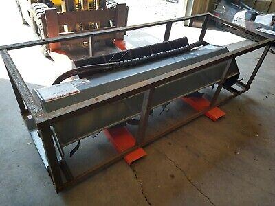 New 2020 Skid Steer Loader Hydraulic Tiller 72 6 Feet Rototiller Mower King
