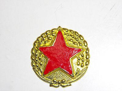 b9581 Korean War NK Korea Enlisted EM Field Cap Star badge IR16A