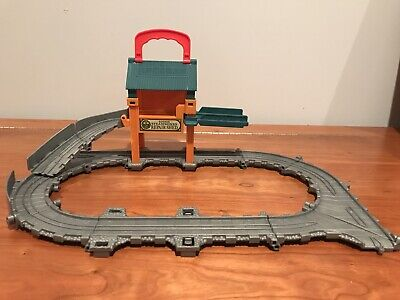 Thomas the Train Sodor steamworks take and play set