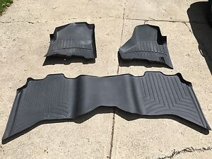 WeatherTech Digital Fit floor mats - 2010 RAM 1500 Crew