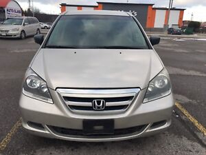 2006 Honda Odyssey.. Low km..almost new tires..7seaters