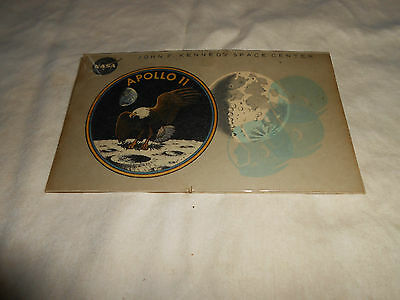 Rare Vintage NASA Apollo 11 VIP Access Badge #8404 w/ Holder 1969  Authentic!