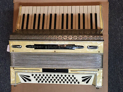 Special Made in Italy Vintage Accordion 48 Bass 34 Note