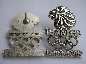 Official 'TEAM GB' Olympics LONDON 2012 'ATHLETE ISSUE' Olympic NOC Pin Badge