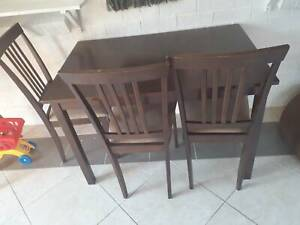 Four chairs and table - Free Pickup only