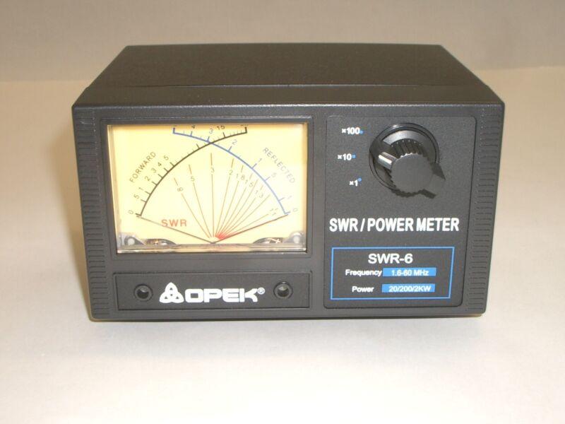 OPEK SWR-6L 1.6-60MHz HF CROSS NEEDLE SWR POWER WATT METER 2000W