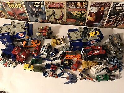 (Lot of 36) 90's Vintage Transformers Armada Energon RID Animated Loose NR