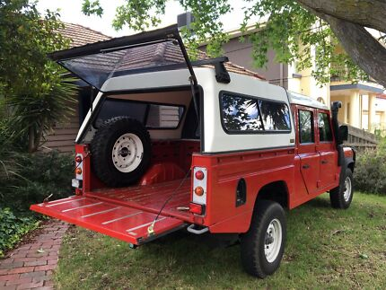 Land Rover defender 130 tub and canopy & land rover 130 | Cars u0026 Vehicles | Gumtree Australia Free Local ...