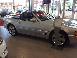 Mercedes SL500 convertible 2002