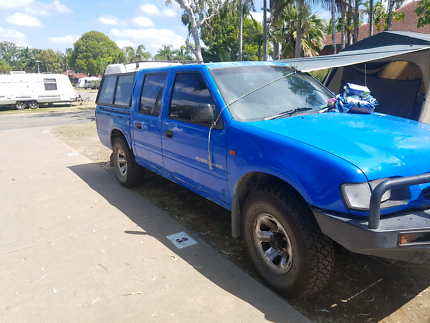Holden 4x4 rodeo  twin carb turbo  4