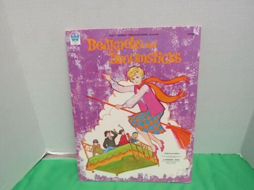 Bedknobs and Broomsticks Authorized Edition Paper Doll Cut Outs