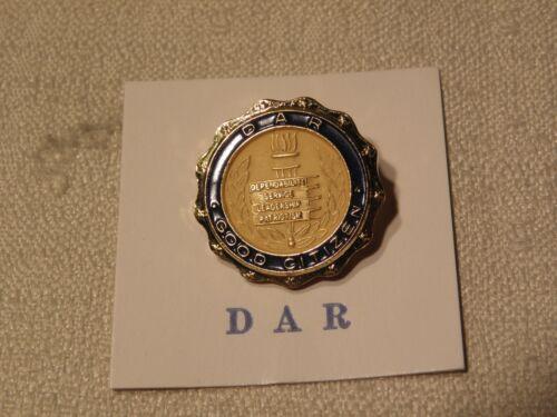 Pin DAR Daughters American Revolution Good Citizen Award Dependability Service