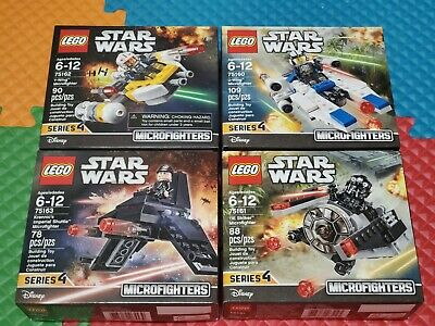 Lego Star Wars Microfighters Series 4 New complete lot 75160 75161 75162 75163