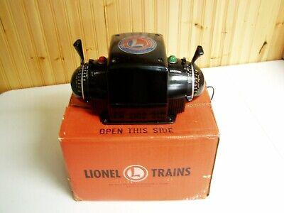 1957-58 LIONEL TYPE ZW 275 WATT TRAINMASTER TRANSFORMER IN ORIGINAL BOX