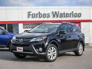 2015 Toyota RAV4 1 OWNER! AWD LIMITED/ACCIDENT FREE